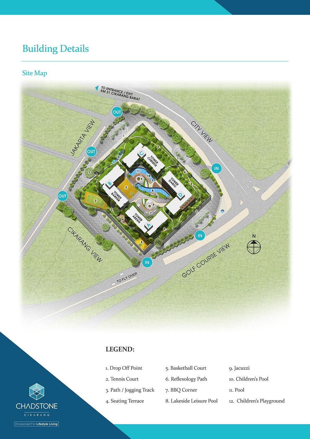 Building Details: Key Plans, Site Map, Floor Layouts Chadstone Cikarang