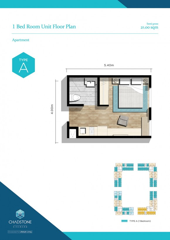Unit Floor Plan - Type A